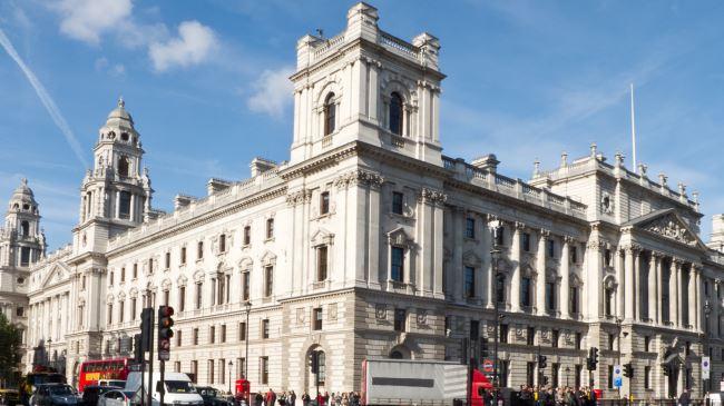 Britain-Treasury-Building
