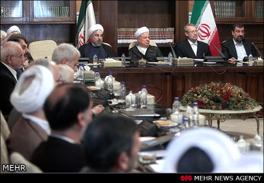 Expediency Council-Hashemi Rafsanjani