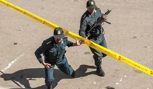 Iran Arrests Police Killers