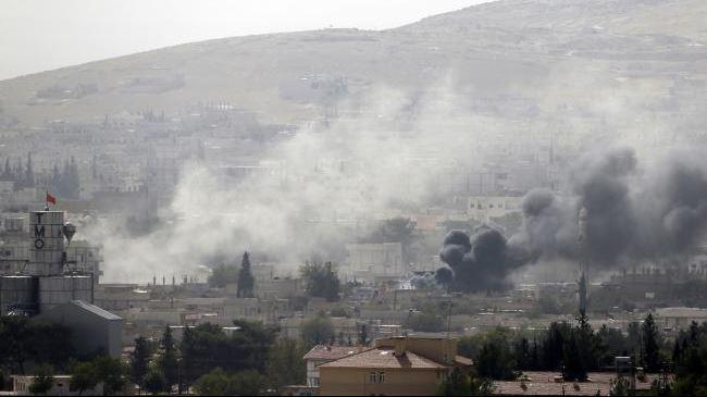 Kobani-strike