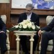 Eshagh Jahangiri at a meeting with Nouri al-Maliki