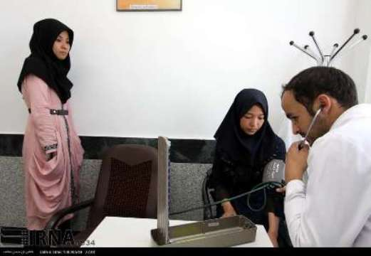Healthcare afghans in Iran