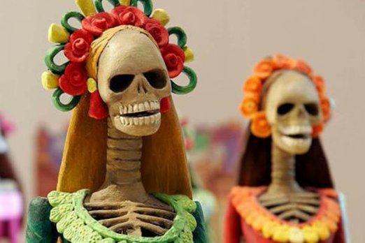 Iran museum-Latin American dolls