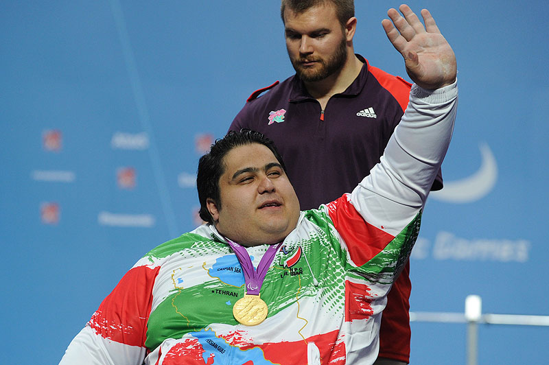 Siamand Rahman - world's strongest Paralympian