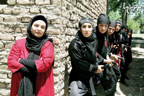 Marjan Riahi - iranian ninja movie