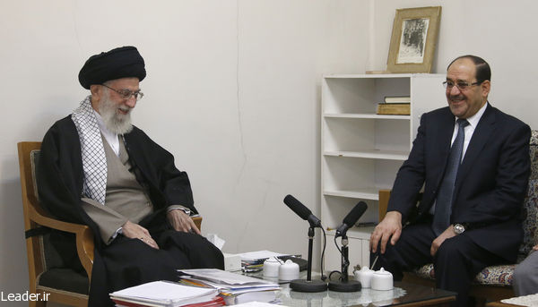 Supreme Leader Khamenei and Nouri Maleki