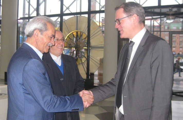 Gholam Hossein Shafei and Karsten Dybvad