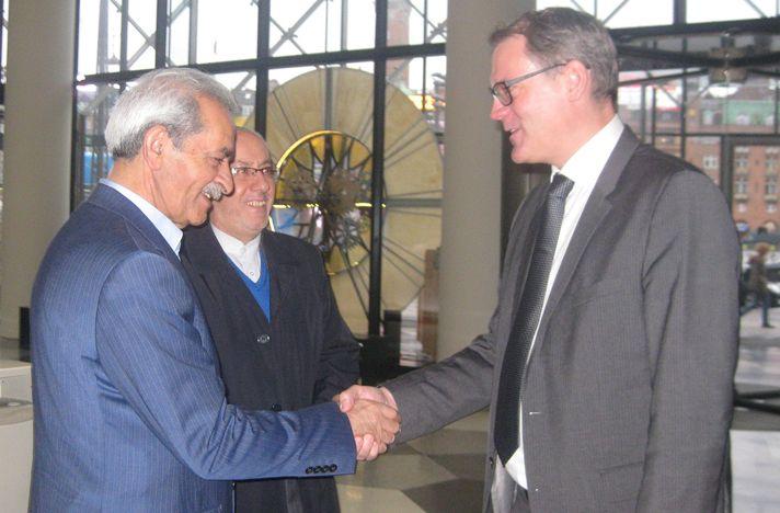 Gholam Hossein Shafei and Karsten Dybvad