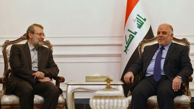 Iran-Iraq-Larijani