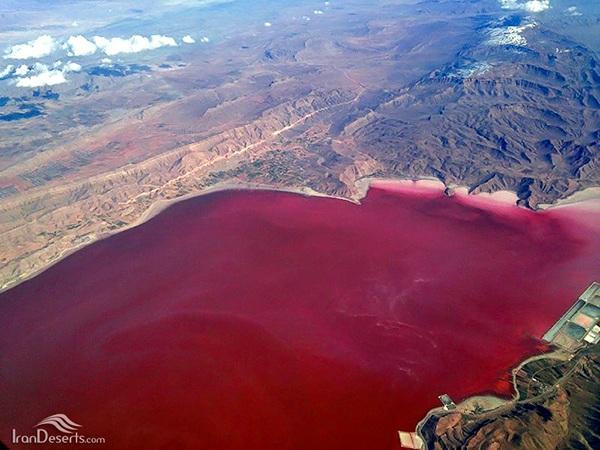 Iran-pink wetland of Lipar