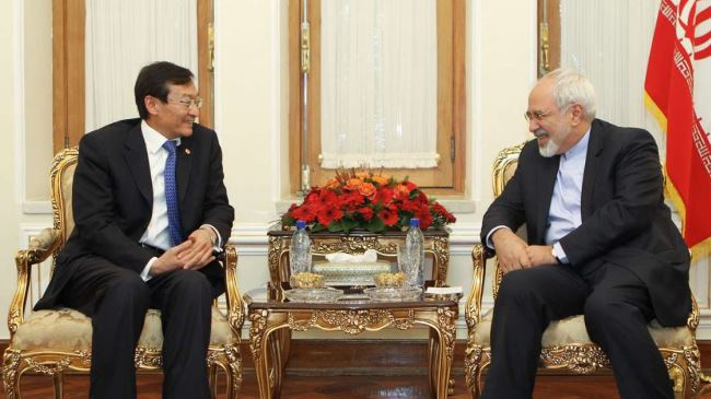 Zarif-Zhang-meeting