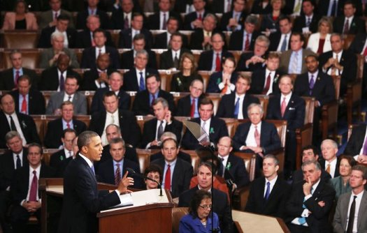 obama in cogress