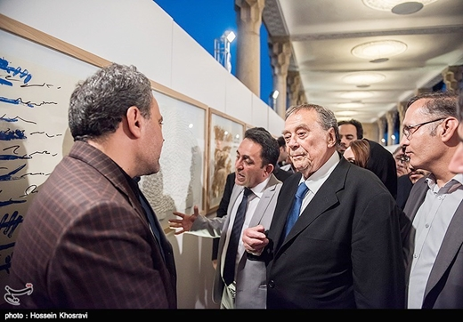 German Artist Displays Hafez-Inspired Paintings in Shiraz
