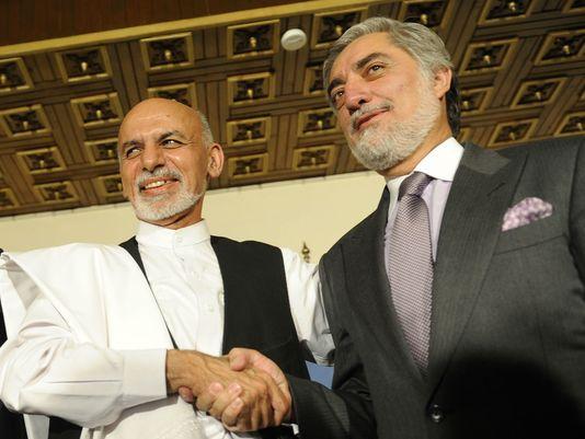 Ashraf Ghani-Abdullah Abdullah