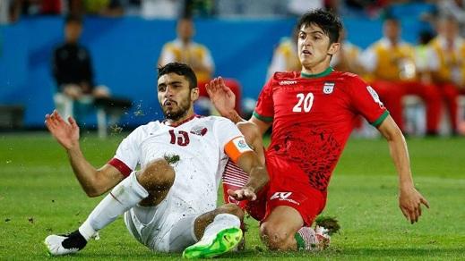 Iran gatar football