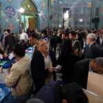 Iranians cast their votes in two elections at a polling station in Tehran on February 26, 2016. (AFP)