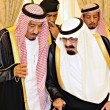 King abdullah and King Salman