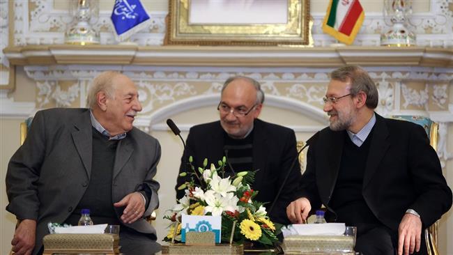 Larijani-palestine