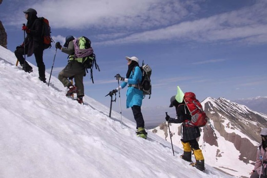 Mountaineering stick