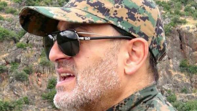 Top military commander of the Lebanese Resistance Movement, Hezbollah, Mustafa Badreddine
