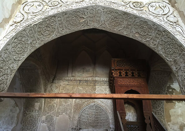 Jame Mosque of Nain , Iran's Third Oldest