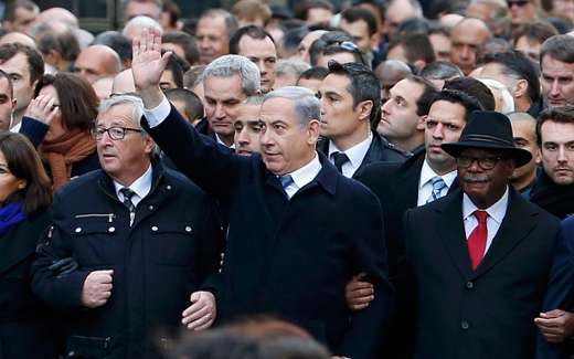 Paris Attacks charlie Hebdo Netanyahu