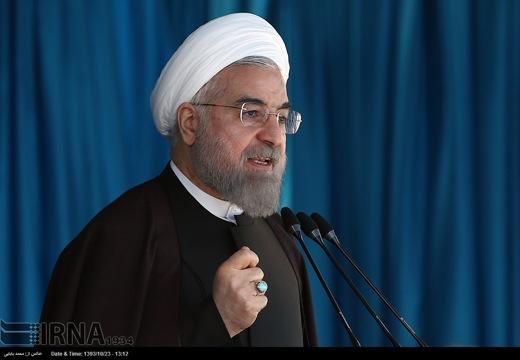 Rouhani in Bushehr