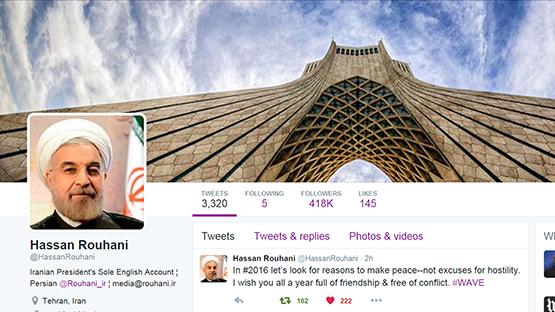 Rouhani-tweet
