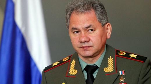 Russian Defense Minister Sergei Shoygu