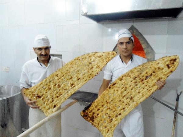 Iran's Sangak (traditional bread)