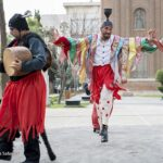 Haji Firouz in Iran's Streets Welcoming Persian New Year