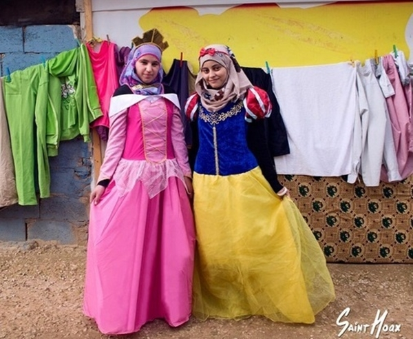 Syrian girls