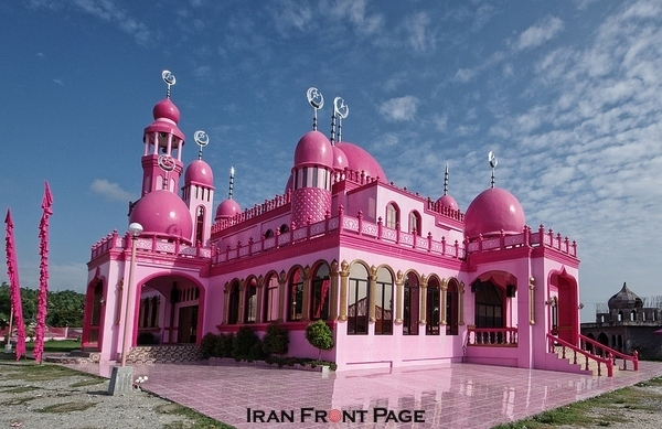 The Pink Mosque of the Philippines
