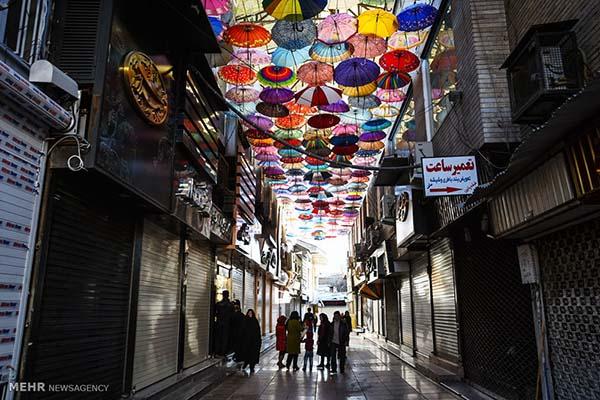 shopping street iran