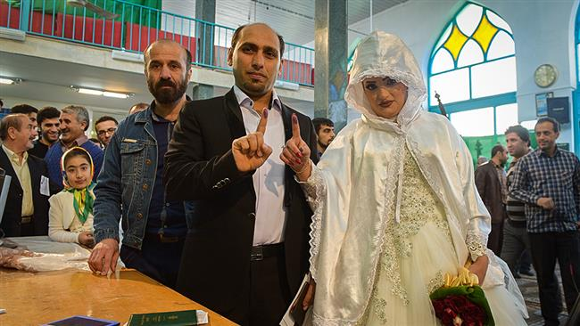 Young elections Iran