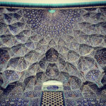Heikh-Lotfollah's mosque in Esfahan,Iran