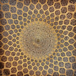 Sheikh-Lotfolah's mosque in Esfahan, Iran
