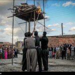 Kurdish Men Celebrating Nowruz in Western Iran