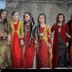 Kurdish Girls and Women Celebrating Nowruz in Western Iran