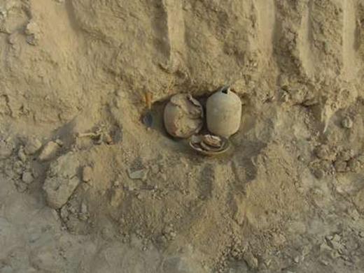 4200-year-old Zoroastrian grave
