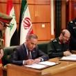 General Hossein Dehqan and his Iraqi counterpart Khalid al-Obeidi