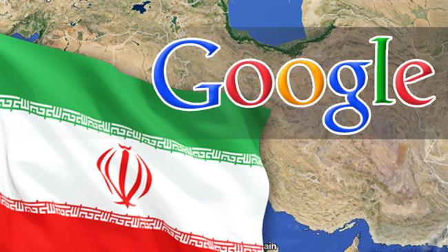 Iran-google