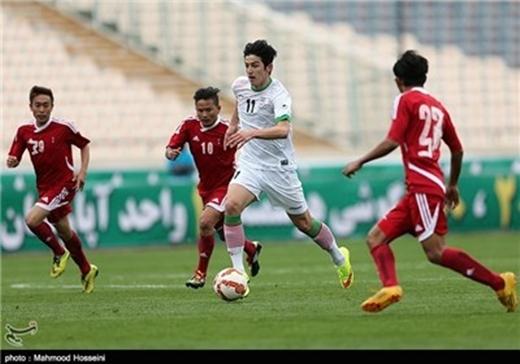 Iran-Palistine-Fottball
