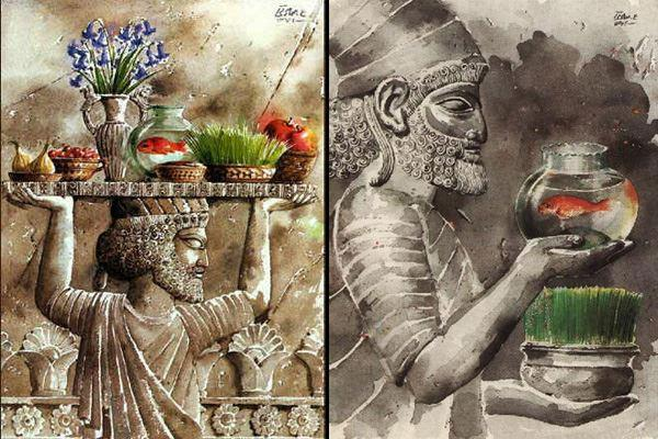 Nowruz in Ancient Iran