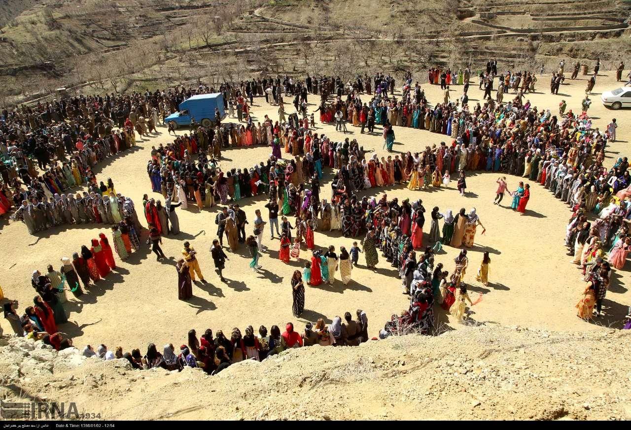 Nowruz Celebration Iran Kurdestan