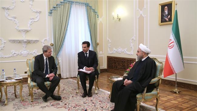 Rouhani-Italy FM
