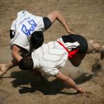 Traditional wrestling