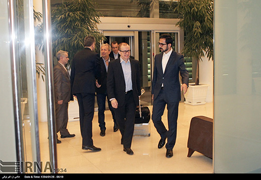 IAEA delegation arrives in Tehran