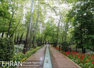 Persian garden Park