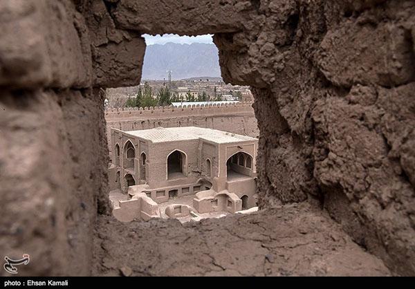 Rayen Citadel in Kerman